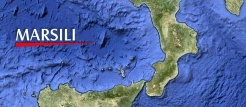 Terremoto vicino al vulcano Marsili. Foto di MeteoWeb.