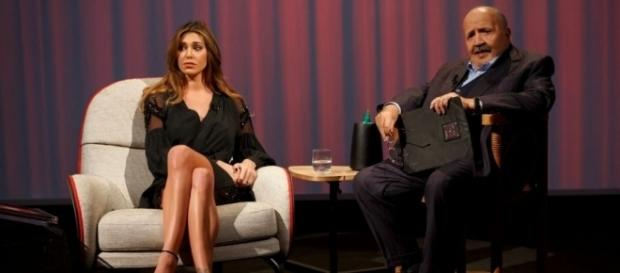 Belen Rodriguez gossip: in lacrime da Costanzo