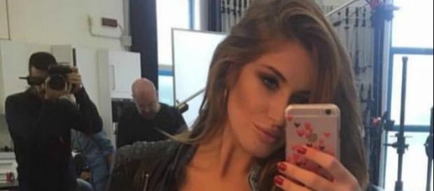Elena Riz, la bella tifosa dell'Hellas Verona