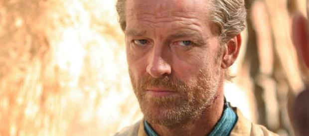 Ian Glen, caracterizado como Jorah Mormont.