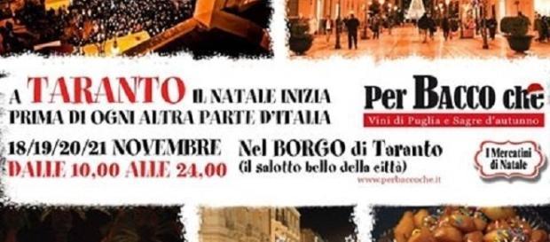 Mercatini di Natale 2016, a Taranto dal 18 al 21 novembre