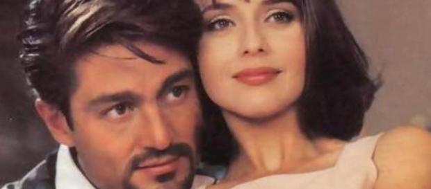 Paola Bracho e Carlos Daniel na novela Usurpadora