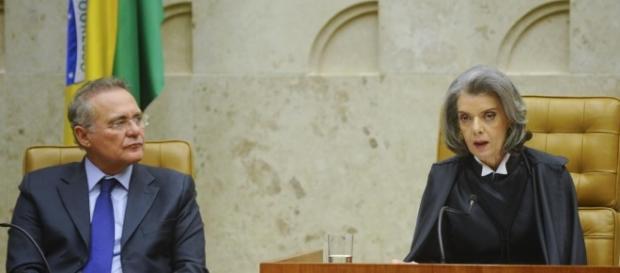 Renan decide telefonar para Cármen Lúcia, antes de reunião sobre segurança pública