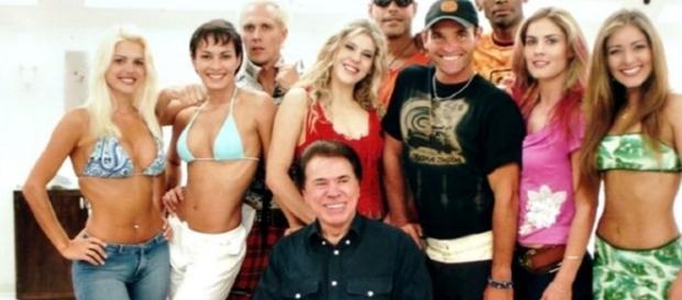 Silvio Santos em 'A Casa dos Artistas'