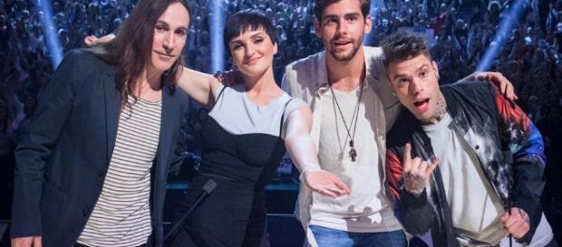 X Factor 2016 replica in chiaro tv8