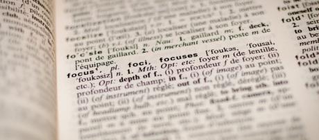 Dictionnaire - Focus - CC BY -