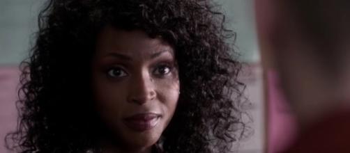 """Billie (Lisa Berry) in """"Supernatural""""/Photo via screencap, """"Supernatural"""""""