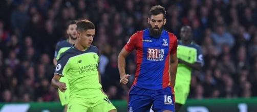 Crystal Palace complicou bastante o jogo para o Liverpool.