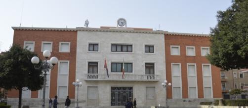 Il palazzo del Comune di Crotone