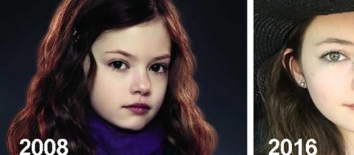 """Mackenzie Foy, atriz que fez sucesso na saga """"Crepúsculo"""" como Renesmee."""