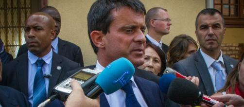 Manuel Valls point de presse à Strasbourg 2013 - CC BY