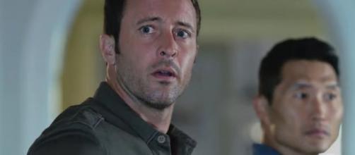 "McGarrett (Alex O'Loughlin) and Chin (Daniel Dae Kim) in ""Hawaii Five-0""/Photo via screencap, ""Hawaii Five-0"""