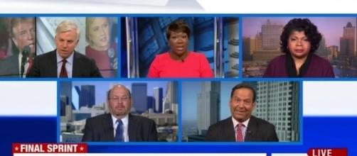 MSNBC panel on FBI email review, via YouTube