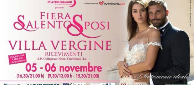 5 e 6 novembre nuova Fiera Salento Sposi nel Salento: appuntamento a Villa Vergine