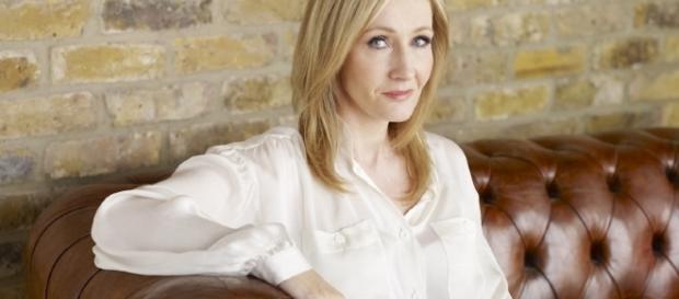 La scrittrice inglese J.K.Rowling