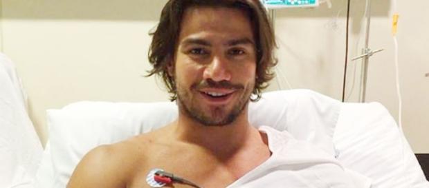 Mariano precisou ir para a UTI após acidente em treino para o 'Saltibum'