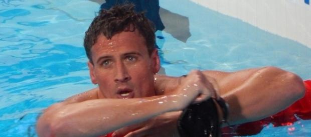 Ryan Lochte will compete with pro partner Cheryl Burke when 'Dancing with the Stars' 2016 resumes on Halloween. Chan-Fan/Wikimedia