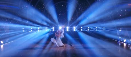 Reality TV star Terra Jole and Sasha Farber performed an emotional Viennese waltz on 'DWTS.' DWTS/YouTube