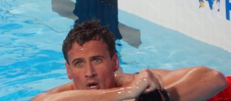 """Ryan Lochte on """"Dancing With The Stars"""" Wikimedia"""