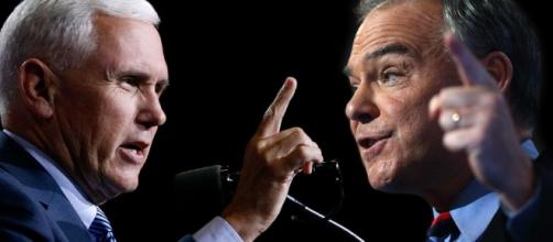 As it happened: VP candidates Tim Kaine, Mike Pence square off in ... - nypost.com