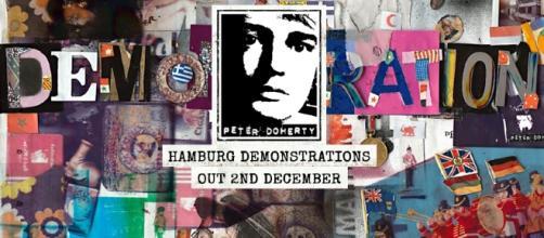 La copertina del disco, pubblicata in anteprima sulla sua Pagina Facebook Ufficiale