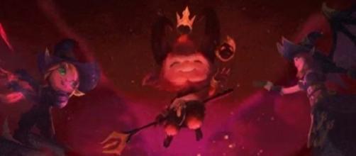 Posible aspecto de Teemo, Teemo Demonio, campeón de League of Legends