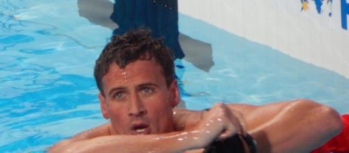 Ryan Lochte Olympic swimmer, DWTS diet. Wikimedia