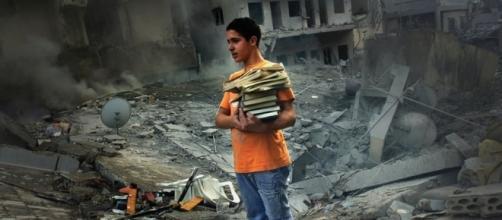 Una foto di Jeroen Oerlemans, ucciso ieri a Sirte, in Libia, da un cecchino dell'ISIS