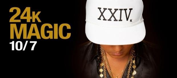 "Bruno Mars marca seu retorno com ""24K Magic"""