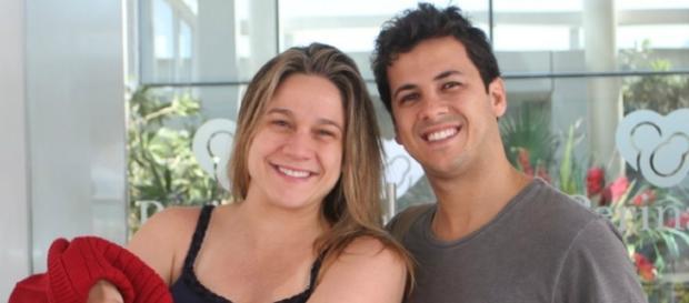 Fernanda Gentil e Matheus Braga foram casados