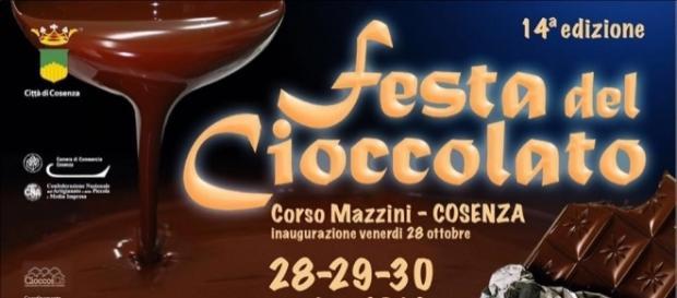 Festa del cioccolato 2016 a Cosenza
