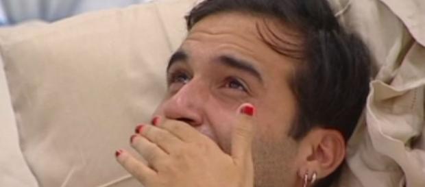 Grande Fratello Vip, Bosco di nuovo in lacrime
