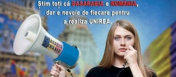 Se iese în stradă pentru Basarabia