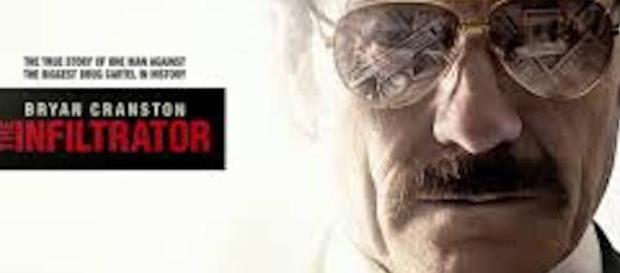 The Infiltrator poster. Screencap from WarnerBros uk, via YouTube