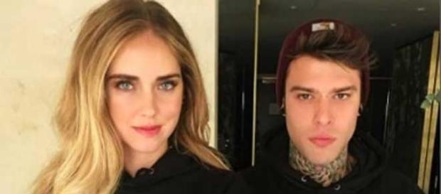 Uno degli scatti postati su Instagram dalla nuova coppia Ferragni-Fedez