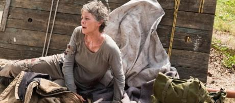 Carol in peril! Walking Dead S7 E2 'The Well' (via Blasting News image library - screenrant.com)