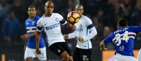Mesmo a Sampdoria facilitando para a Inter no primeiro tempo, a equipe não conseguiu aproveitar as oportunidades