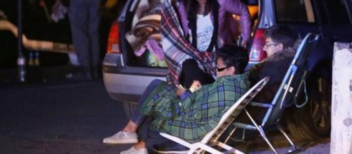 Amatrice Rieti terremoto, la prima notte fuori casa degli sfollati ... - corriere.it