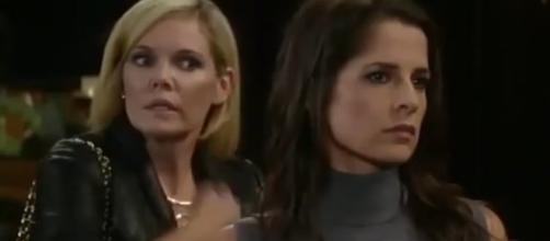Ava and Sam stunned by Valentin Cassadine via YouTube 9Saturns