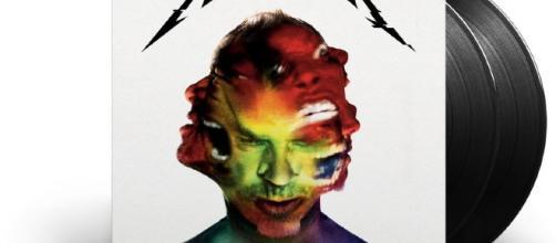 La copertina di Harwired in fomato vinile