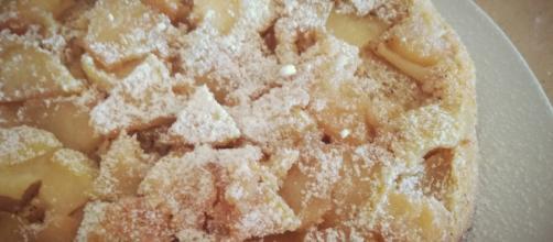 La dolce torta d'oro dell'autunno