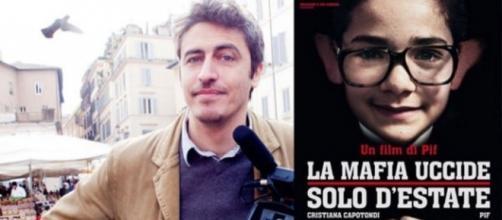 La mafia uccide solo d'estate, con Pif (foto Palermotoday.it)