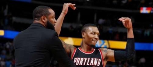 Lillard hits floater, Blazers beat Nuggets 115-113 in OT - San ... - mysanantonio.com