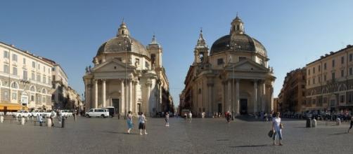 Piazza del Popolo (Roma), luogo della manifestazione.