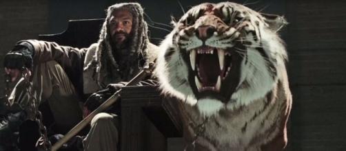 The Walking Dead Season 7: Khary Payton Talks Ezekiel & Shiva Photo: Blasting News Library - screenrant.com
