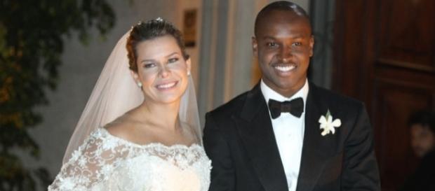 Casamento de Fernanda Souza com o cantor Thiaguinho