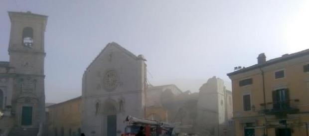Cutremur Italia 30 octombrie 2016 - imagini din Nurcia