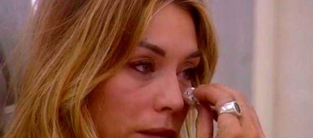 Gf Vip, Elenoire Casalegno piange al Grande Fratello Vip - today.it