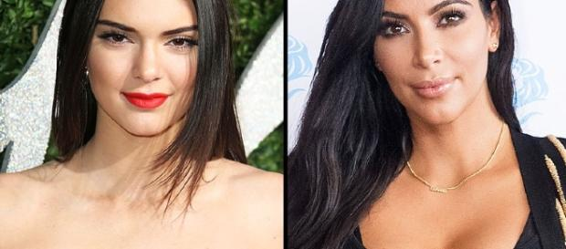 Kendall Jenner Posts Suggestive Bikini Pic Similar to Sister Kim ... - people.com