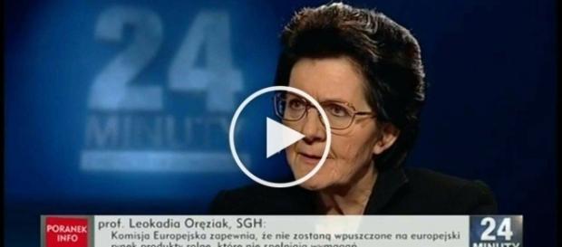 """Krótka i zwięzła ocena CETA w programie """"24 minuty""""."""